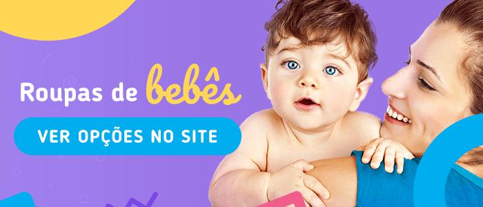 comprar roupa de bebê pela internet